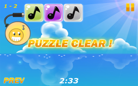 Screenshot Cheap Shot: iMusic Puzzle